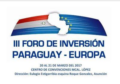Más de 440 empresas registradas para nuevo foro de inversión Paraguay-Europa