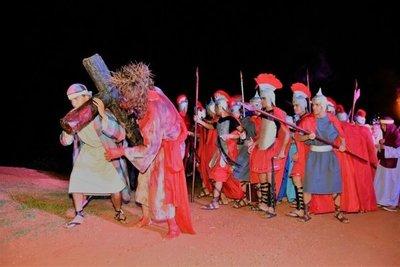 Luque: Semana Santa con estatuas vivientes
