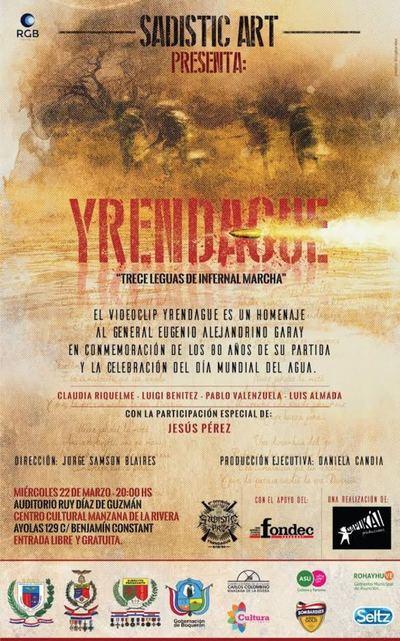 Documental y videoclip sobre la batalla de Yrendagüe lanzan este miércoles.