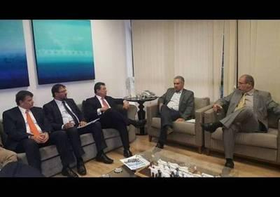 "Leite y gobernador de Matto Grosso do Sul destacan modelo de ""ganar-ganar"""