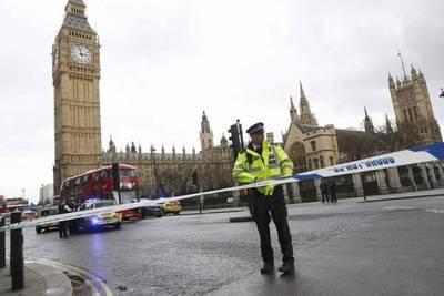Tiroteo en Parlamento británico deja tendal de heridos