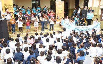 Música y mensajes de H20  por el Día Mundial del Agua