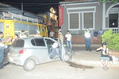 Accidente en San Lorenzo deja dos mujeres lesionadas