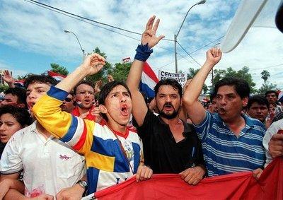 Diez fotos para recordar el Marzo Paraguayo