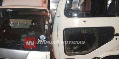 HIEREN A REPARTIDOR TRAS BALEAR CAMIÓN EN MAYOR OTAÑO