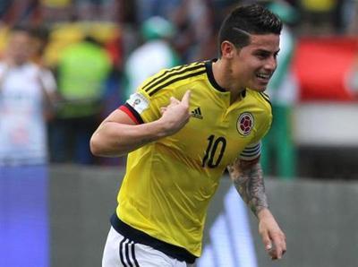 Colombia derrota apenas a Bolivia