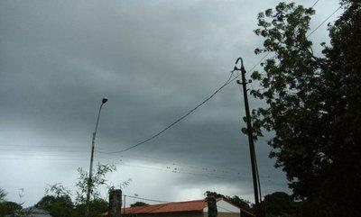 Anuncio de tormentas para 7 departamentos