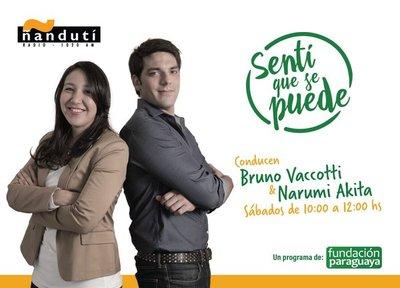 Sentí que se Puede. Con Bruno Vaccotti y Narumi Akita