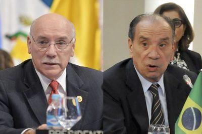 Canciller brasileño visitará Paraguay este lunes