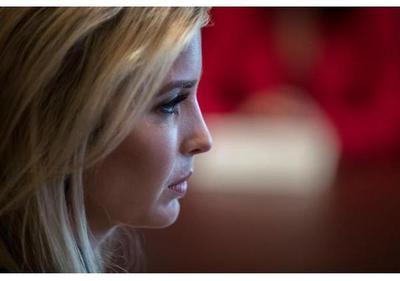 Ivanka Trump se abre paso en la Casa Blanca