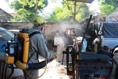 Senepa inicia fumigación en 12 barrios
