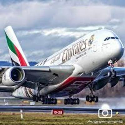 Avión comercial más grande del mundo realizó su primer vuelo entre Dubái y San Pablo