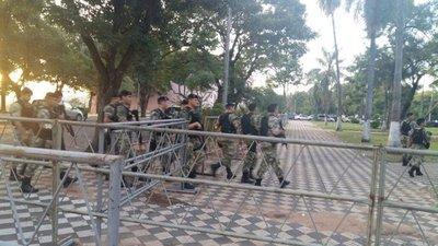 Francotiradores cercan sede del Congreso