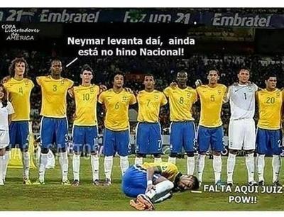 Los memes de Neymar acaparan las redes sociales