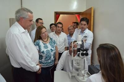 Inauguraron mejoras en el Centro Oftalmológico de Tomás Romero Pereira