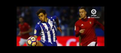 Romero brilla, pero Alavés cae derrotado ante Osasuna
