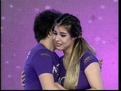 Nadia Portillo lloró en la tele