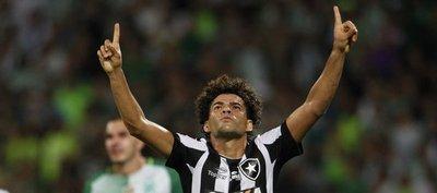 Botafogo vence a Atlético Nacional y toma el liderato