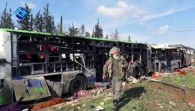 Más de 100 muertos en ataque con un coche bomba en Siria