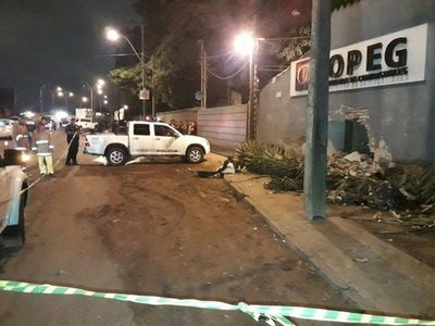 Mujer falleció aplastada en Villa Elisa
