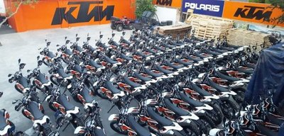 EBY compró motos por USD 1,5 millones a firma de Bernardes