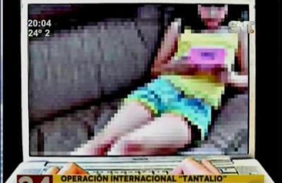 Operativo internacional desbarató red dedicada a la pornografía infantil