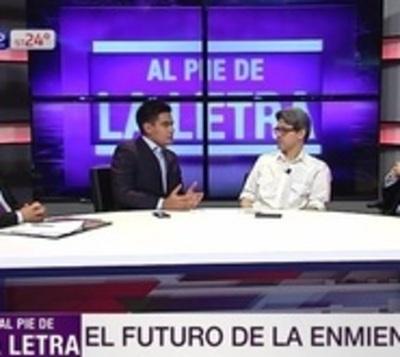 """Camilo Soares: A los poderes """"no les sirve este Horacio Cartes"""""""