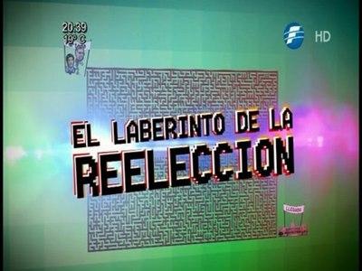 El laberinto de la reelección