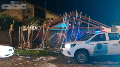 Escrache en vivienda de Lugo