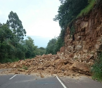 Cerro de Caacupé podría desmoronarse otra vez