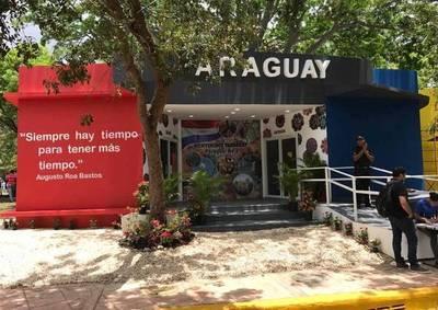 Paraguay tiene un pabellón en Feria de Santo Domingo