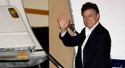 Santos llega hoy a Asunción para reunirse mañana con Cartes