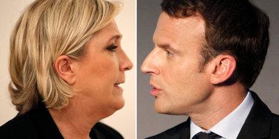 Le Pen adelanta a Macron en la primera ronda de las presidenciales francesas