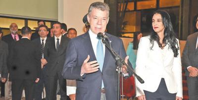 Santos: Reforzar lazos en materia de seguridad