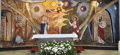 Con arte sacro buscan conectar a fieles con lo divino