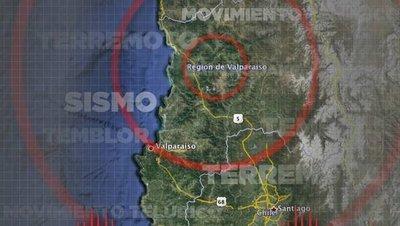 Sismo de Chile y Argentina se sintió en parte del país