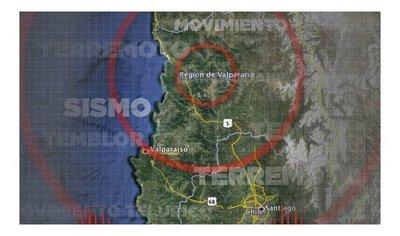 Últimos sismos en Argentina y Chile se sintieron en parte de Asunción