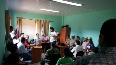 Reunión clave para acuerdo con campesinos en Capiibary