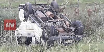 OTRO ACCIDENTE DE TRÁNSITO SACUDE CNEL. BOGADO
