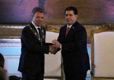 Visita de Santos dejó varios acuerdos