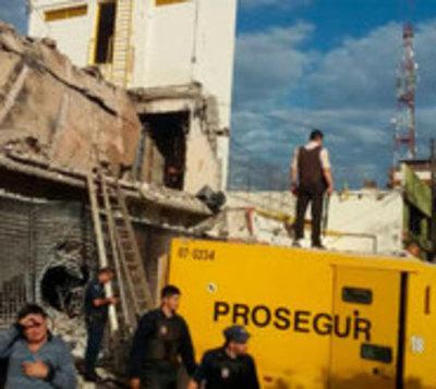 Monto robado a Prosegur: Ahora se menciona solo USD 6 millones