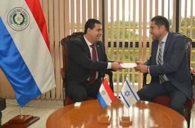 Embajador israelí destaca voto de confianza hacia autoridades paraguayas
