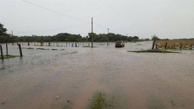 Yabebyry en crisis y aislada por la lluvia