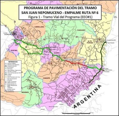 Pavimentación del tramo San Juan Nepomuceno ya está en marcha