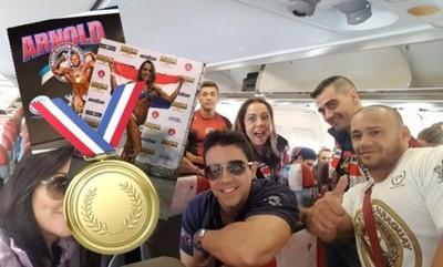 Paraguay Trajo Tres Medallas De Oro Del Arnold Classic De Brasil