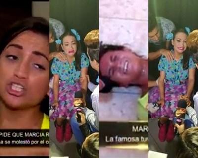 El nuevo ataque de llanto de Marcia Franco