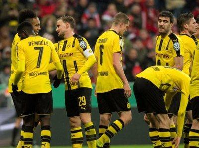 Borussia eliminó al campeón vigente, Bayern Múnich