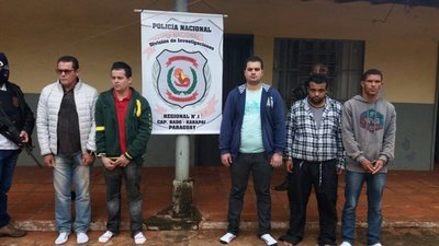 Detienen a cinco brasileños en Capitán Bado