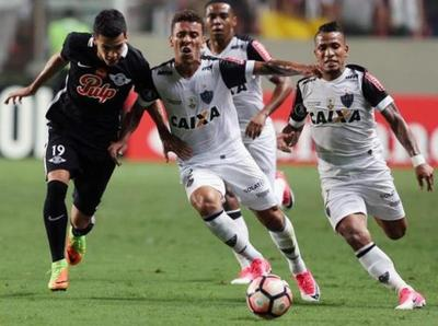 Libertad cayó ante Atlético Mineiro de visita