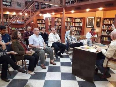 Cuarta jornada del taller de Poesía de la Biblioteca Municipal